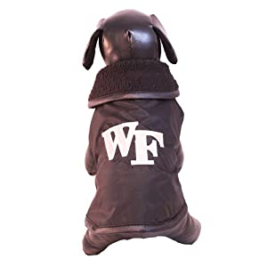 NCAA Wake Forest Demon Deacons All Weather Resistant Protective Dog Outerwear,... by All Star Dogs