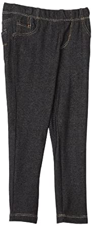 Levi's Little Girls' Christy Knit Legging, Black, 2T