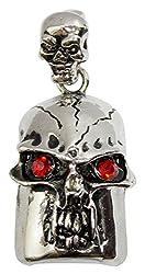 Zeztee Pen Drive ZT11623 Skull Shape Fancy Jewellery Style 16 GB USB 2.0 pen drive in Silver Color