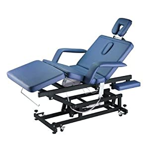 Chiropractic Massage Treatment Table in Blue