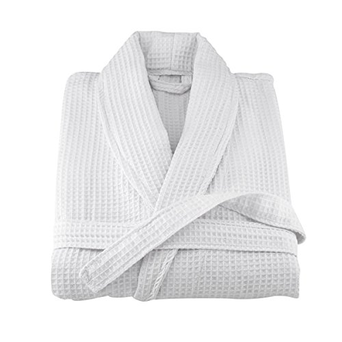 waffle-weave-white-hotel-quality-bathrobe-dressing-gown-by-sleepbeyond