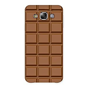 Special Classic Chocolate Back Case Cover for Galaxy E7