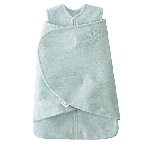 HALO SleepSack Micro-Fleece Swaddle, Mint / Pink, Preemie 2-Pack - 1