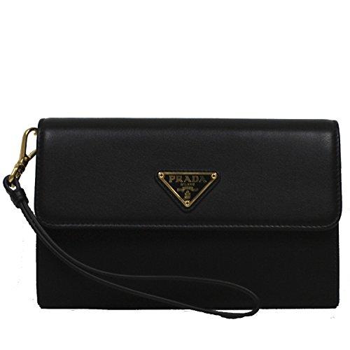 prada-tessuto-textured-leather-portafoglio-pattina-nylon-leather-wristlet-wallet-1m1438-nero-black