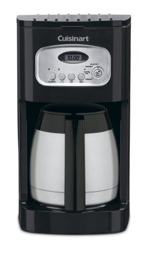 Cuisinart DCC-1150BK 10-Cup Classic Thermal Programmable Coffeemaker, Black (Thermal 4 Cup Coffee Maker compare prices)