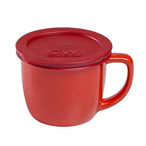 Corningware CW by Corningware Vermilion 20-oz Stoneware Mug (Corning Ware 20oz Mug compare prices)