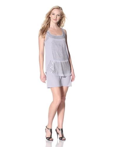 Susana Monaco Women's Hurit Stainglass Sequin Dress  - Colloseum