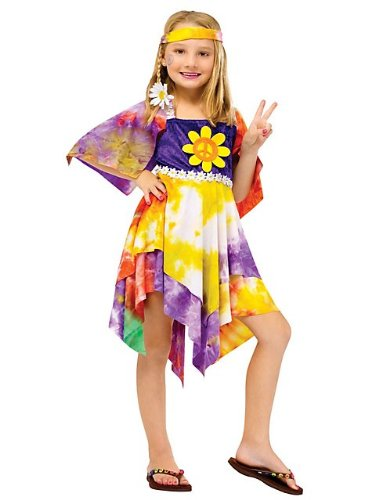 Daisy Hippie Girl Kids Costume