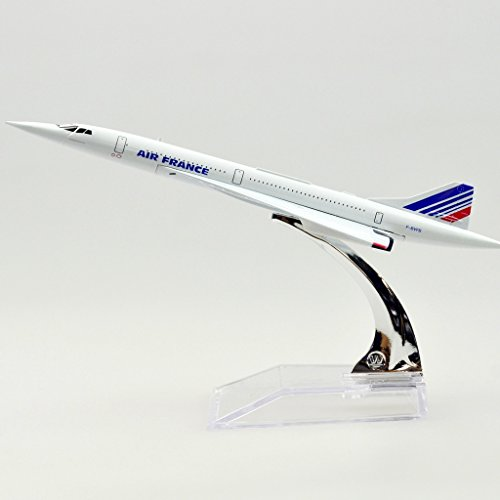 The Air France F-BVFB Concorde Alloy Metal Souvenir Model Airplane (Air France Model compare prices)