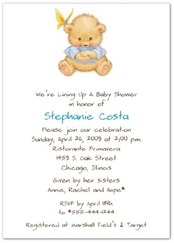 Special Surprise Blue Baby Shower Invitations - Set Of 20 front-1014787