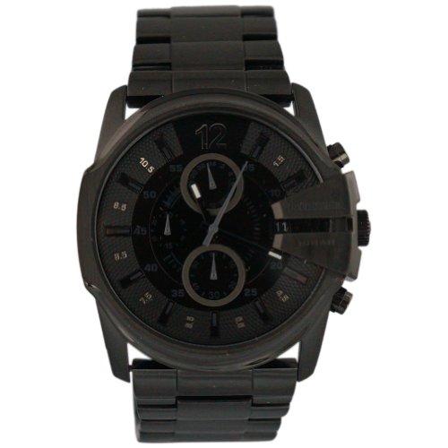 Diesel Men's DZ4180 Diesel Chief Series Analog Display Analog Quartz Black Watch