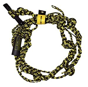 Body Glove Wake Surf Rope, Black, 20-Feet