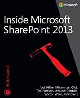Inside Microsoft SharePoint 2013 Front Cover