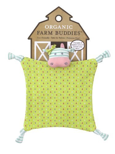 Organic Farm Buddies Blankie, Belle The Cow Color: Belle The Cow Toy, Kids, Play, Children front-737814
