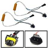iJDMTOY Plug-N-Play Error Free Decoder Wiring Kit For H11 H8 LED Bulbs on Fog Lights or Daytime Running Lights