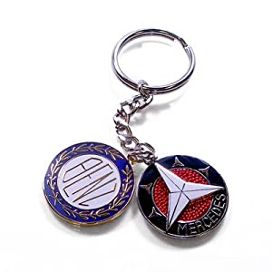 mercedes benz historic logo key chain official mb product. Cars Review. Best American Auto & Cars Review