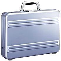 Zero Halliburton Slimline 3 Inch Aluminum Attached, Polished Blue, One Size