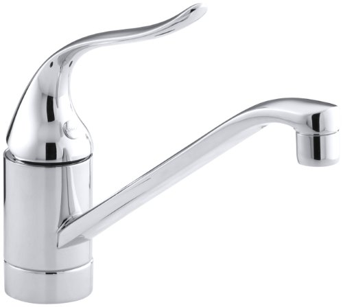 KOHLER K-15175-P-CP Coralais Single Control Kitchen Sink Faucet, Polished Chrome