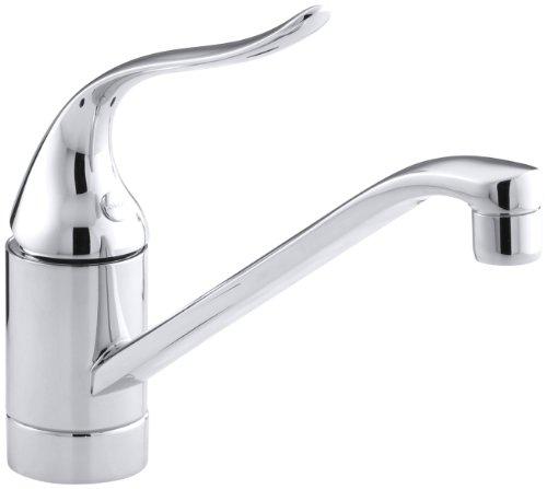 KOHLER K-15175-P-CP Coralais Single Control Kitchen Sink Faucet, Polished Chrome