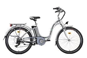Cyclamatic GTE Step Through E-Bike - Silver