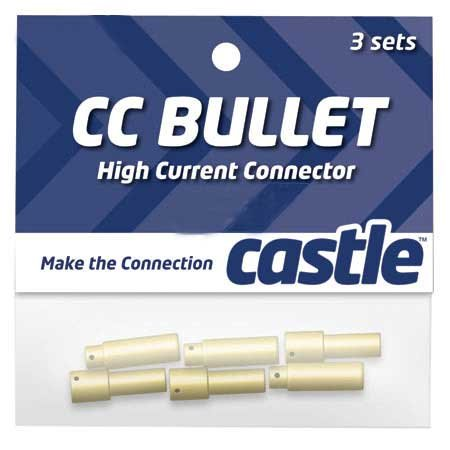 Castle Creations CCBUL553 5.5mm Bullet Connectors