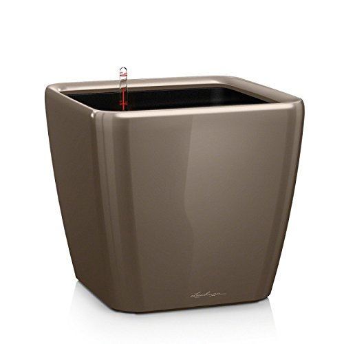 lechuza-premium-quadro-28cm-high-gloss-taupe-self-watering-rounded-square-planter-pot