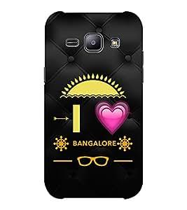 EPICCASE I love bangalore Mobile Back Case Cover For Samsung J1 Ace (Designer Case)