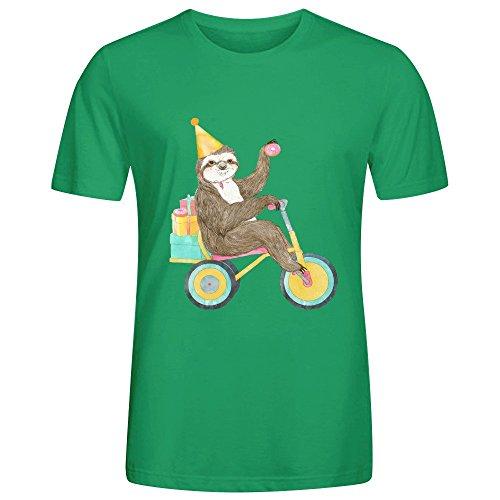 Zebra Mens T Shirts Green