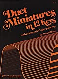 img - for Duet Miniatures in 12 Keys book / textbook / text book
