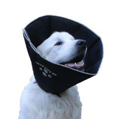 Comfy Cone Small Pet E-Collar, Black