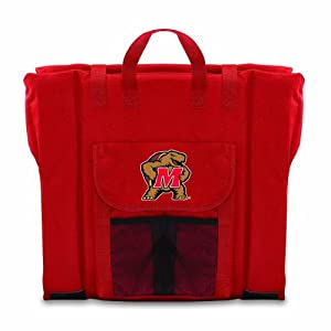 Ncaa Maryland Terps Portable Stadium Seat by Picnic Time
