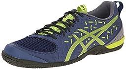ASICS Men\'s Gel-Fortius TR 2 Training Shoe, Indigo Blue/Lime/Taupe, 8 M US