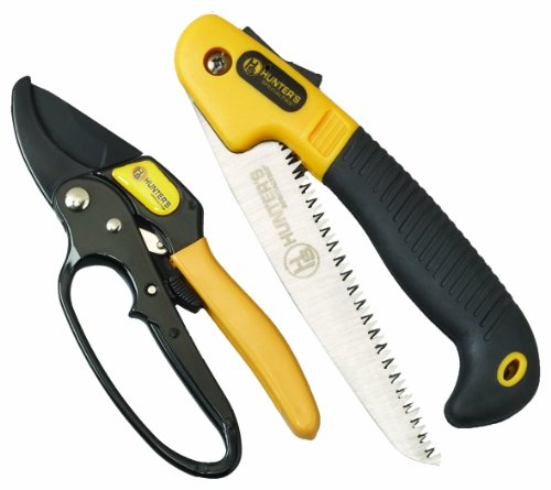 Hunters Specialties Folding Saw And Ratchet Pruner Combo