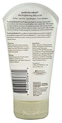 Aveeno Positively Radiant Brightening Daily Scrub 5oz from Aveeno