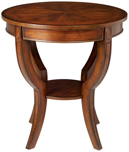 Cheap Americana Cherry Finish Round End Table (DT-0921 E1)