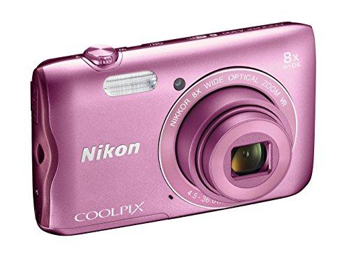 nikon-coolpix-a300-fotocamera-digitale-compatta-201-mp-zoom-8x-vr-filmati-hd-bluetooth-wi-fi-rosa-ni