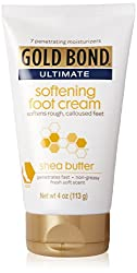 Gold Bond Ultimate Softening Foot Cream With Shea Butter, 4 Ounce