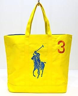 Ralph Lauren Red Blue Canvas Big Pony Handbags