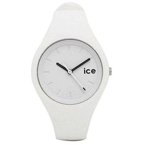 (アイスウォッチ) ICE WATCH アイスウォッチ 時計 ICEWATCH ICE.WE.S.S.14 ICE OLA ユニセックス腕時計 ウォッチ ホワイト/シルバ- [並行輸入品]