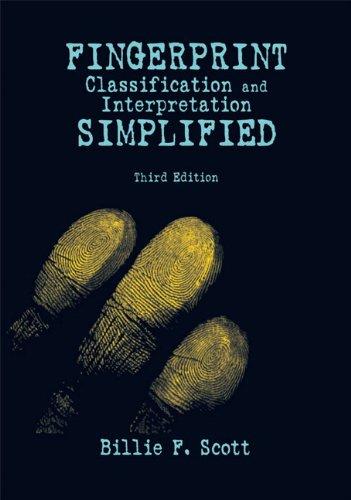 Fingerprint Classification and Interpretation Simplified...