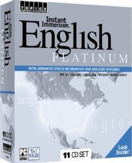 Instant Immersion Learn English Platinum (11 CD-ROM Set)