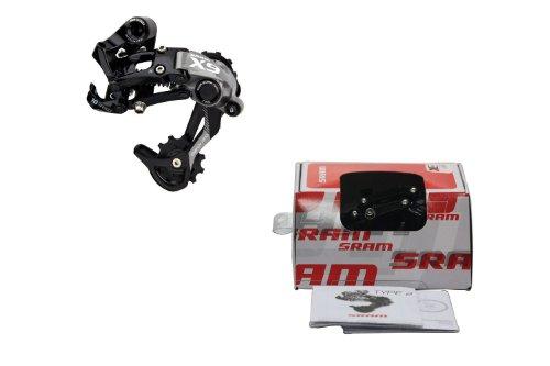 Sram X9 Type-2 Rear Derailleur Mtb Bike (10 Speed, Medium Cage, 00.7518.009.001)
