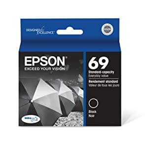 Epson DURABrite T069120 Ultra 69 Standard-capacity Inkjet Cartridge -Black