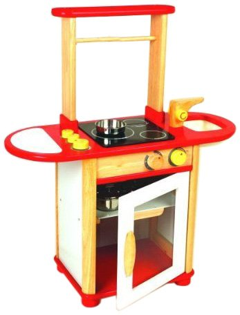Pintoy Red Kitchen Combo