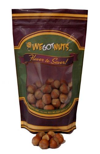 Hazelnuts (Filberts) In Shell , Raw - We Got Nuts (1 Lb.)