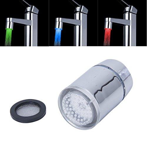 Telefono doccia soffione manopola con illuminazione led 3 - Doccia con led ...