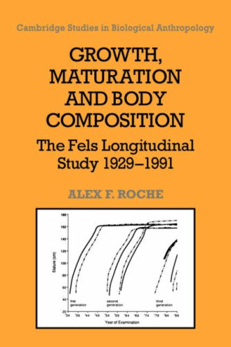 Growth, Maturation, and Body Composition: The Fels Longitudinal Study 1929-1991 (Cambridge Studies in Biological and Evolutionary Anthropology)