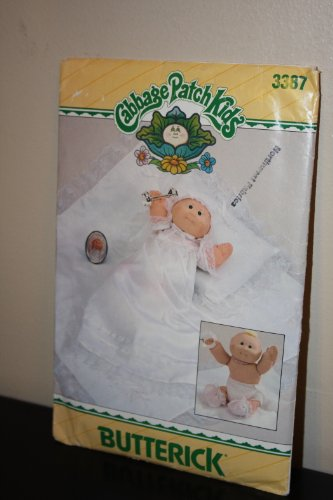 Cabbage Patch Kids Preemie Christening Outfit Pattern By Butterick