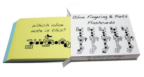 Oboe-Griffweise-Lernkartei