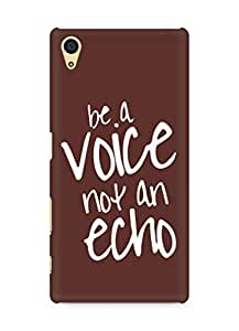 AMEZ be a voice not an echo Back Cover For Sony Xperia Z5
